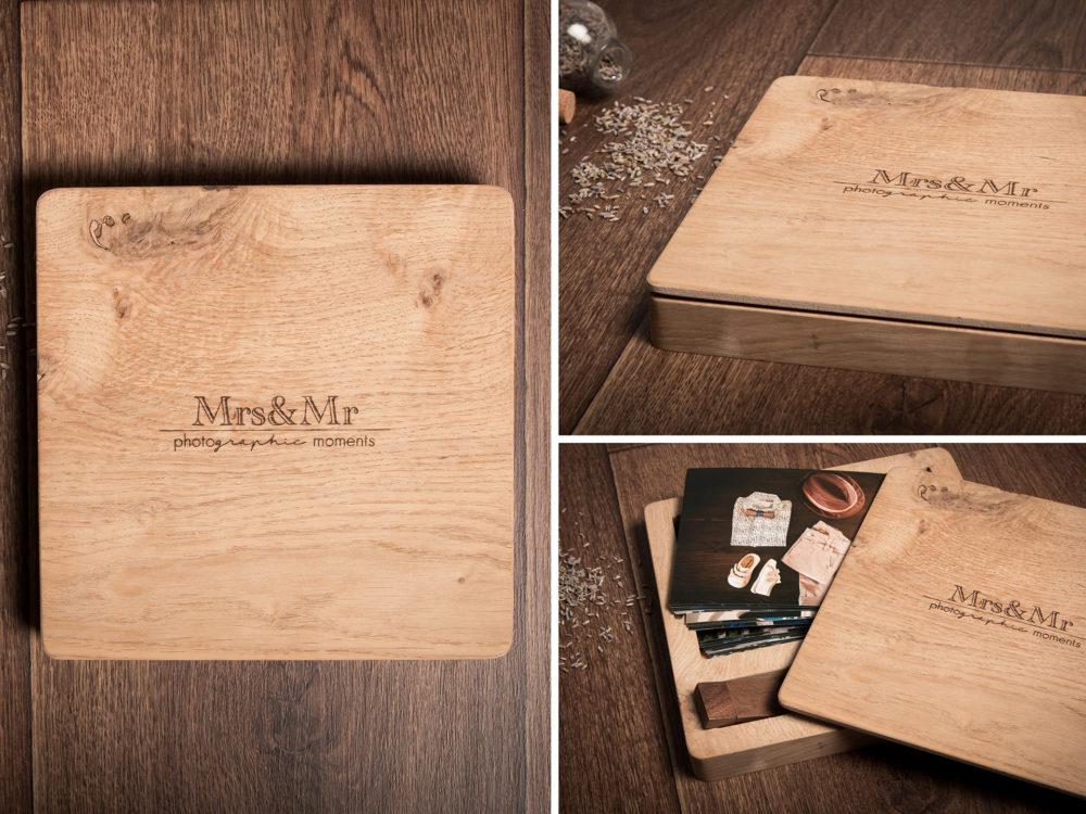 Package - Ξύλινο κουτί δρυς